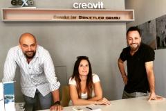 Kateřina Čechurová se zástupci firmy Creavit