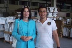 Kateřina Čechurová a mladý nástupce majitelů továrny